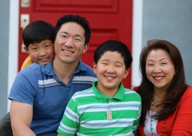 The Kim Family, Christmas 2014